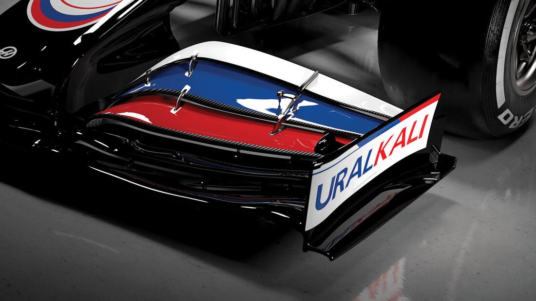 Haas VF-21 - Lackierung - Präsentation - 2021