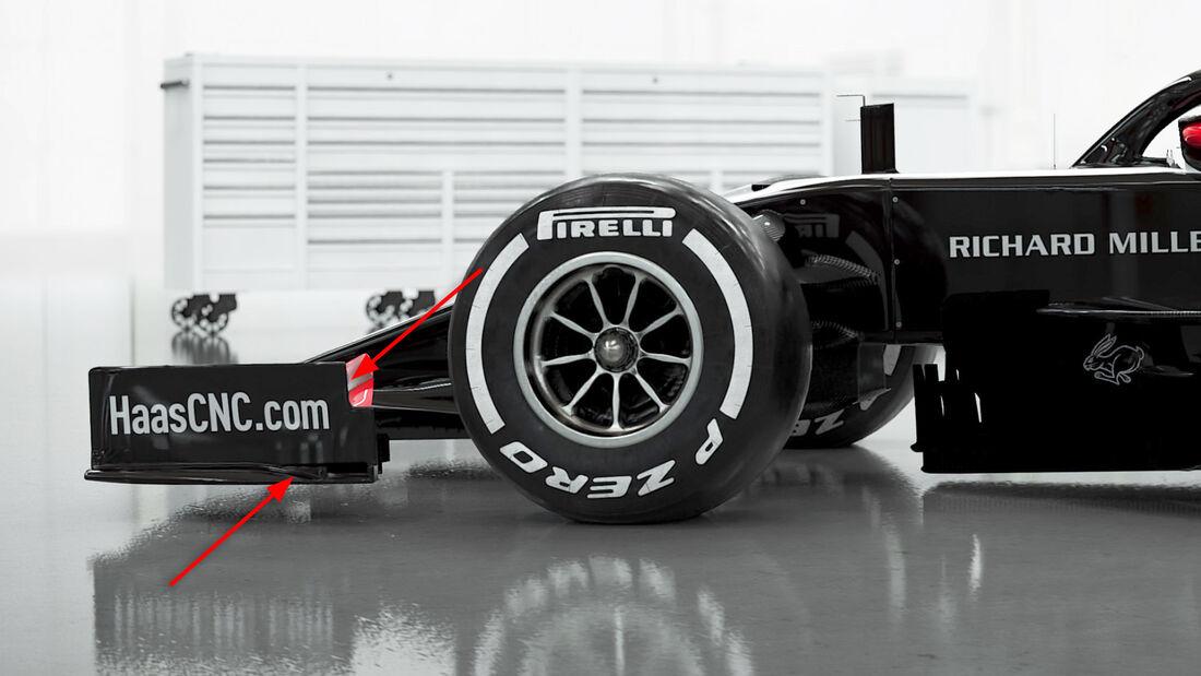 Haas VF20 - Formel-1-Auto - 2020