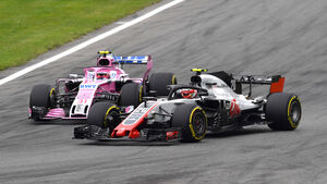 Haas vs Force India - GP Italien 2018