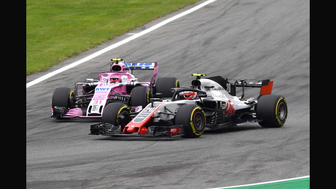 Haas vs Force India - GP Italien 2018