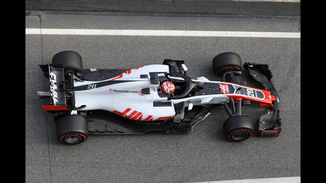 HaasF1 - Barcelona F1-Test 2018