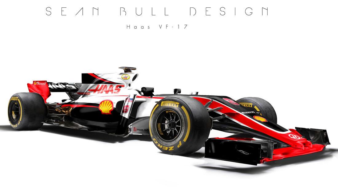 HaasF1 - F1-Designs 2017 - Sean Bull - Formel 1