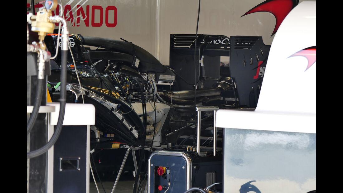 HaasF1 - F1 - GP Spanien - Barcelona - Donnerstag - 12.5.2016