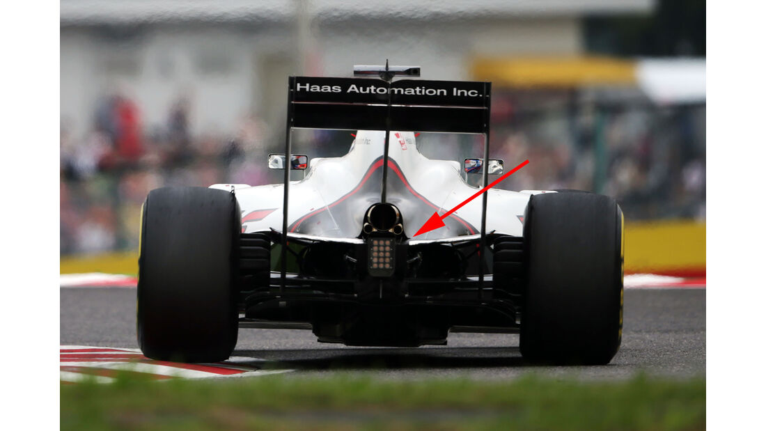HaasF1 - F1 Technik - GP Japan 2016