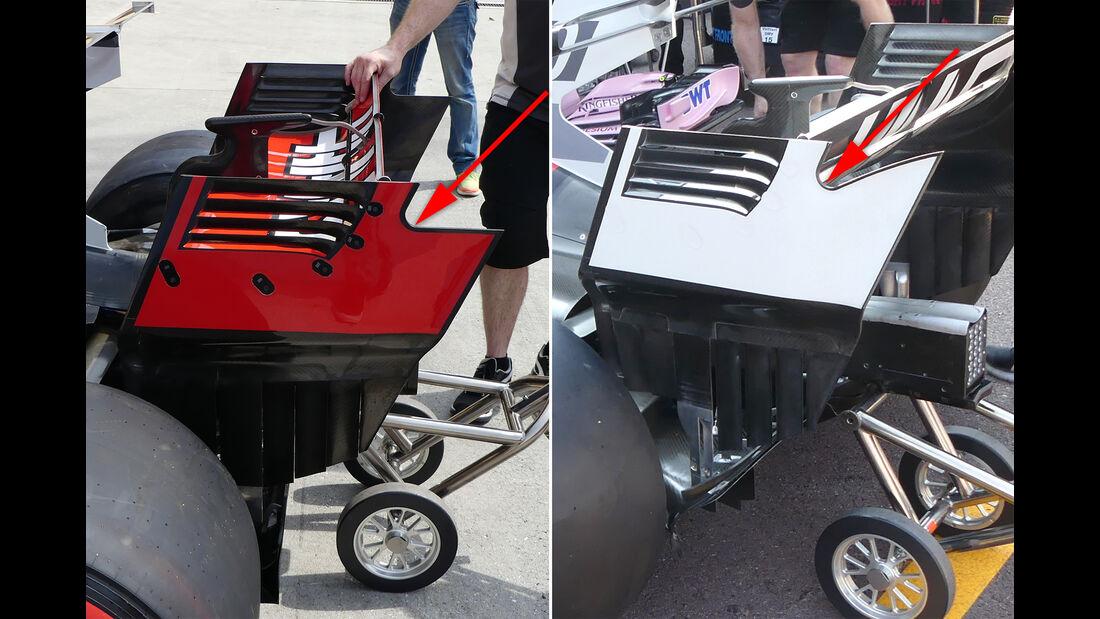 HaasF1 - F1-Technik - GP Monaco 2017