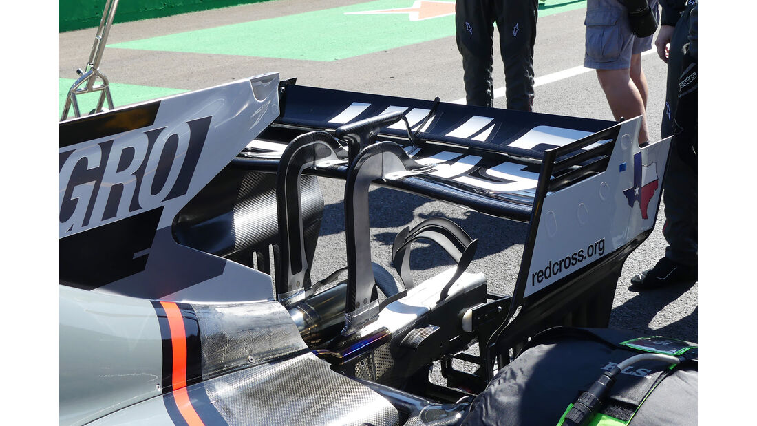 HaasF1 - F1-Technik - Upgrades - GP Belgien / GP Italien 2017