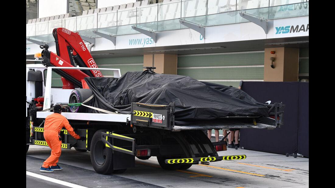 HaasF1 - F1-Testfahrten - Abu Dhabi - 27.11.2018