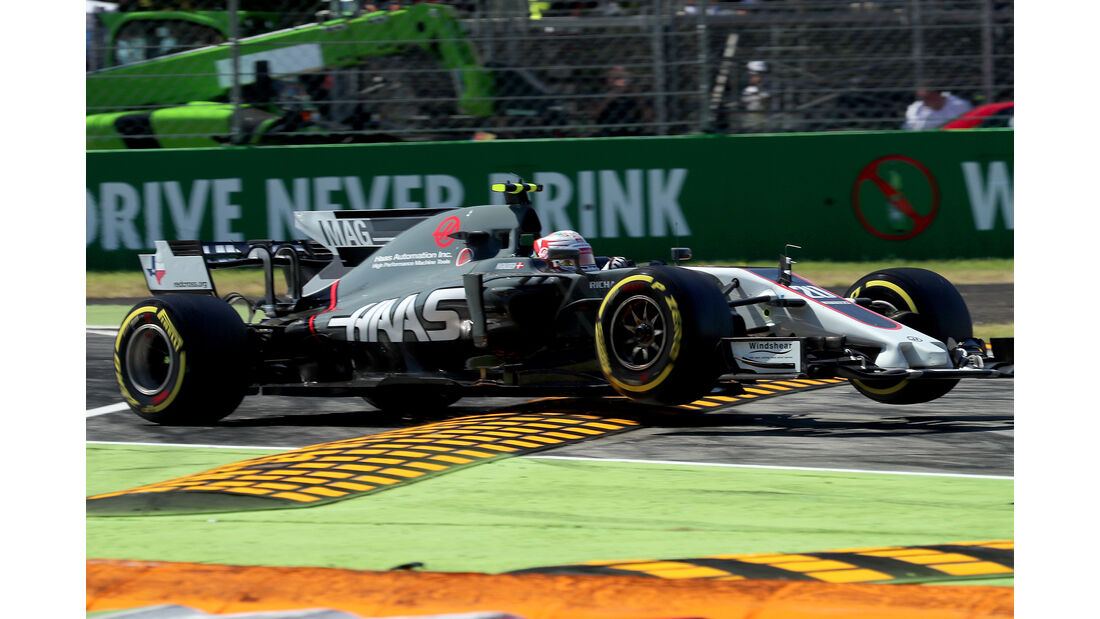 HaasF1 - Formcheck - GP Italien 2017