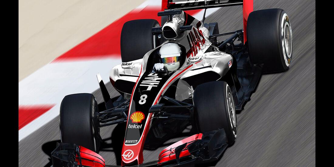 HaasF1 - Formel 1 2017 - Designs - Sean Bull