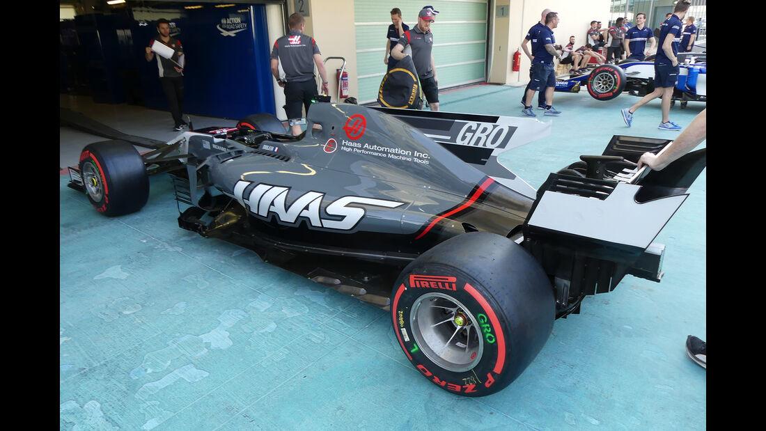 HaasF1 - Formel 1 - GP Abu Dhabi - 23. November 2017