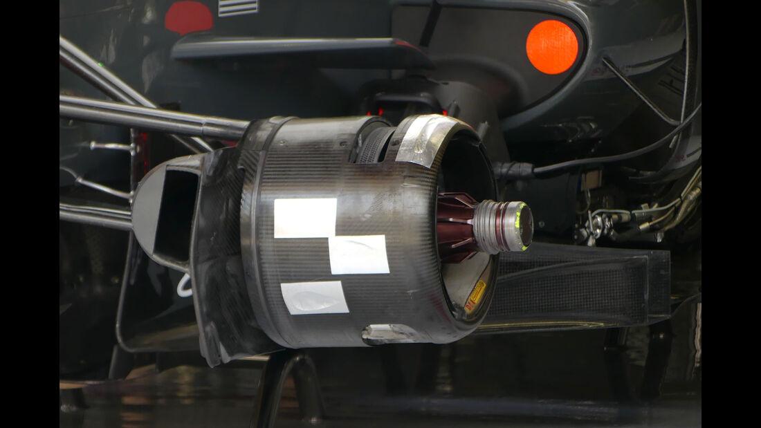 HaasF1 - Formel 1 - GP Bahrain - Sakhir - Training - Freitag - 14.4.2017