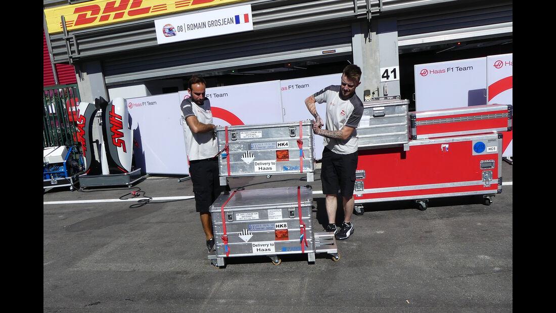 HaasF1 - Formel 1 - GP Belgien - 24. August 2016