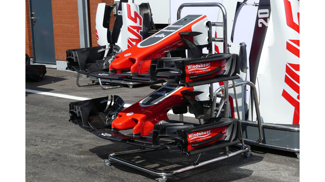 HaasF1 - Formel 1 - GP Belgien - Spa-Francorchamps - 22. August 2018