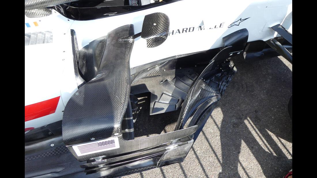 HaasF1 - Formel 1 - GP Belgien - Spa-Francorchamps - 23. August 2018