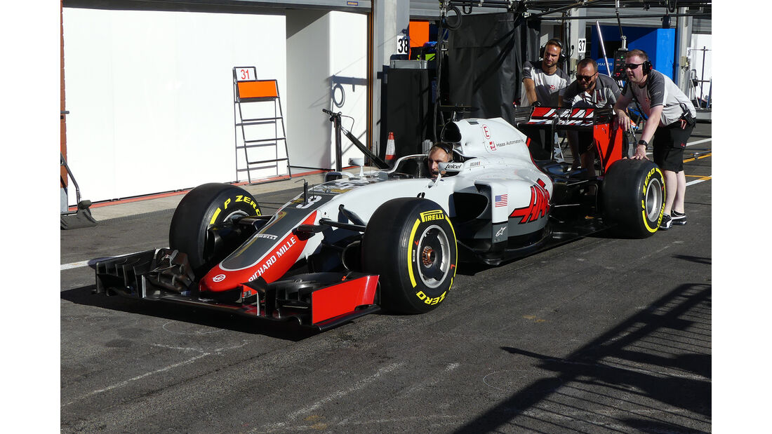 HaasF1 - Formel 1 - GP Belgien - Spa-Francorchamps - 25. August 2016