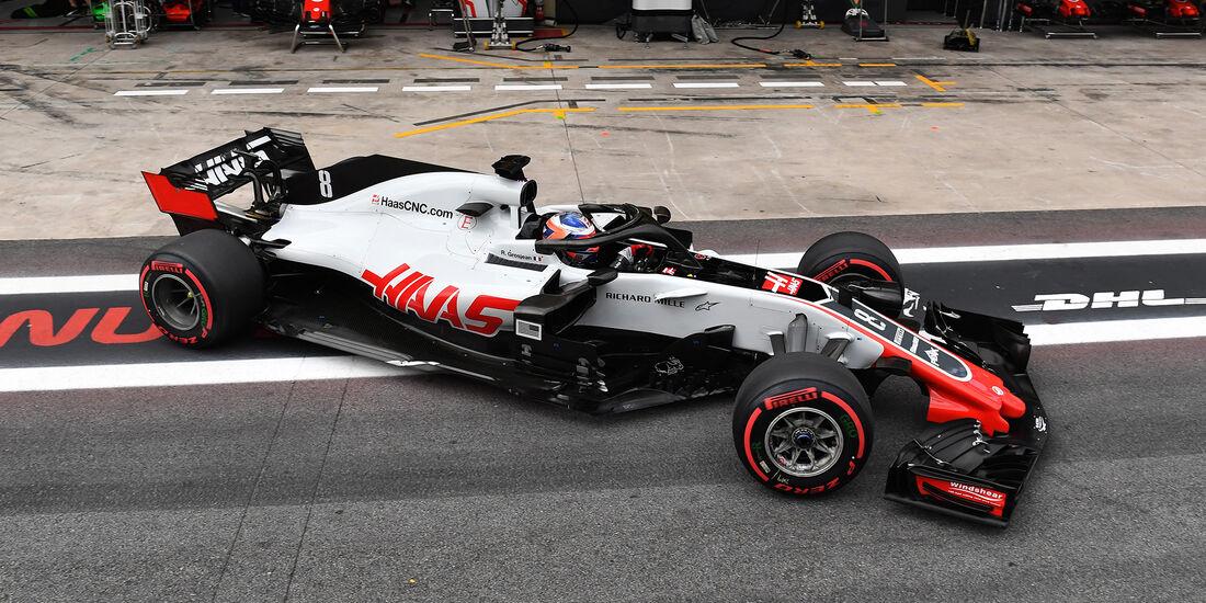 HaasF1 - Formel 1 - GP Brasilien 2018