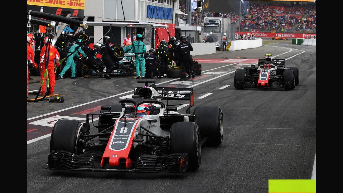 HaasF1 - Formel 1 -GP Deutschland 2018