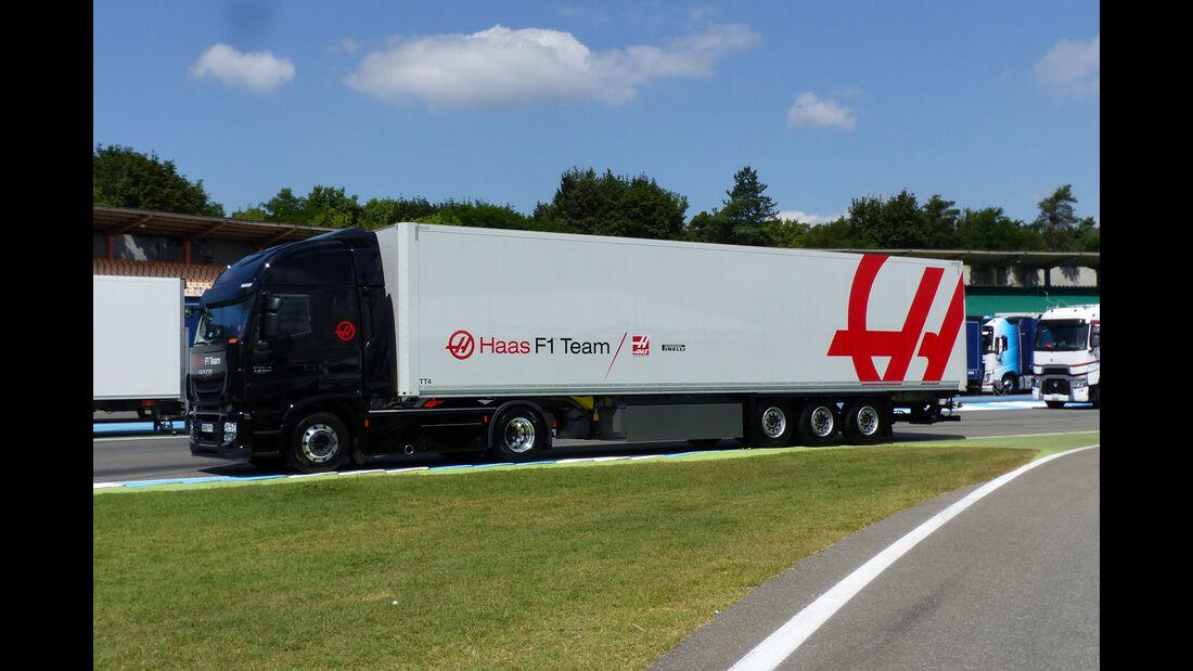 HaasF1 - Formel 1 - GP Deutschland - Hockenheim - 27. Juli 2016