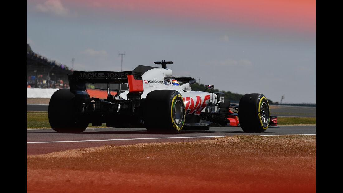 HaasF1 - Formel 1 - GP England 2018