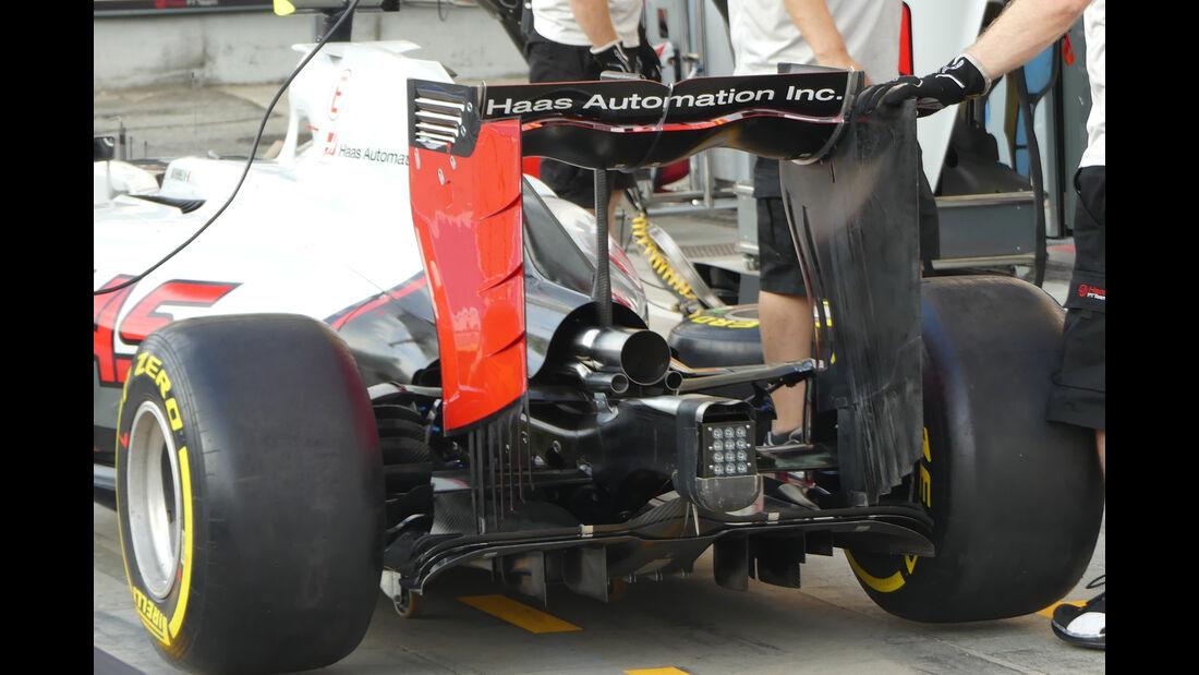 HaasF1 - Formel 1 - GP Italien - Monza - 1. September 2016