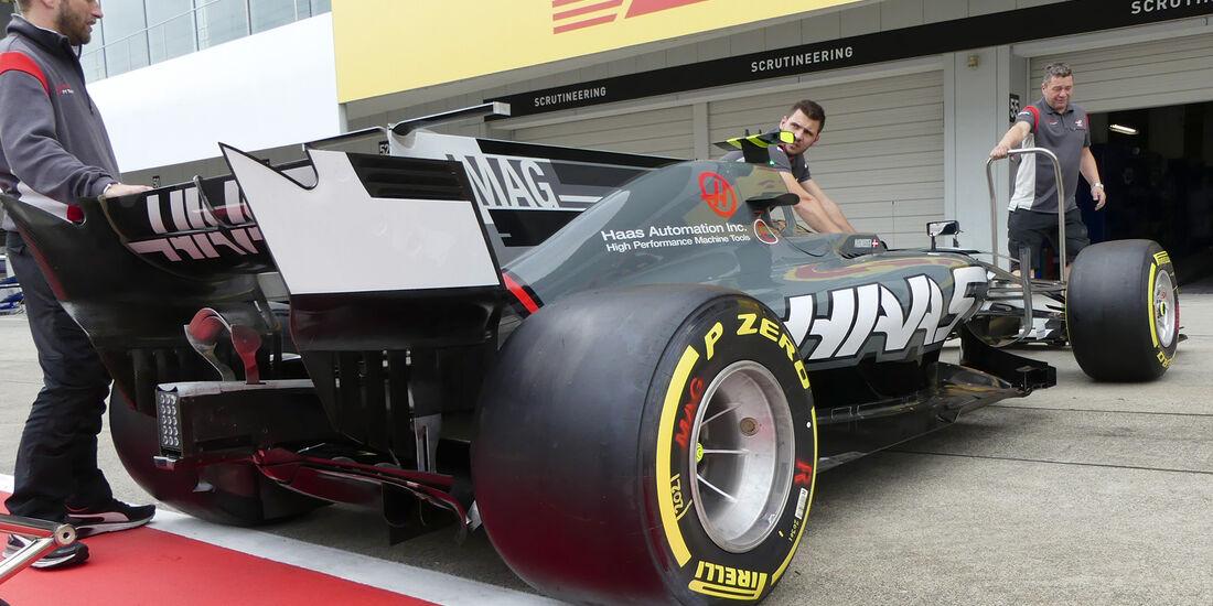 HaasF1 - Formel 1 - GP Japan - Suzuka - 5. Oktober 2017