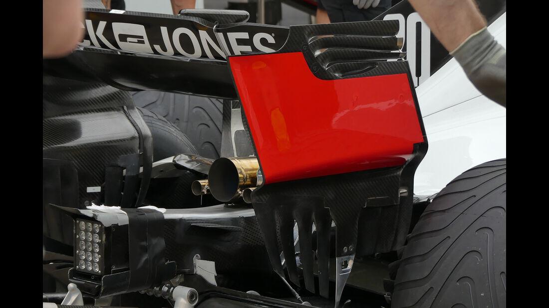 HaasF1 - Formel 1 - GP Kanada - Montreal - 7. Juni 2018