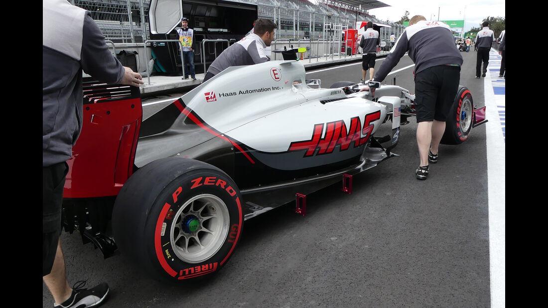 HaasF1 - Formel 1 - GP Mexiko - 27. Oktober 2016