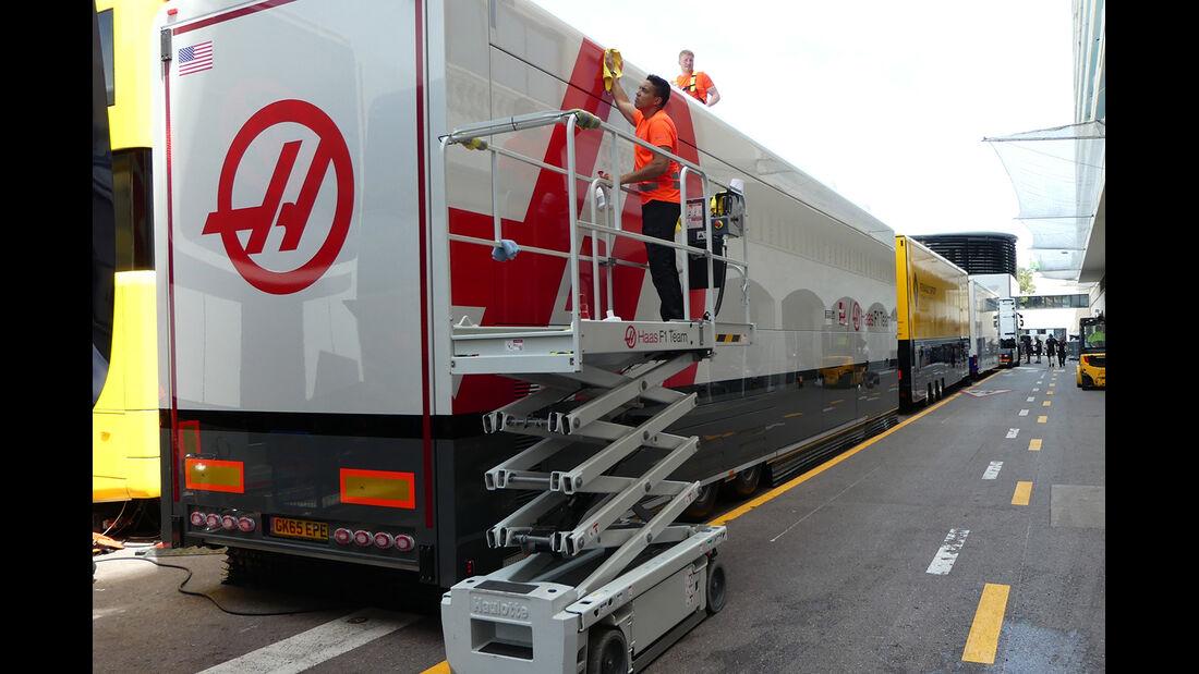 HaasF1 - Formel 1 - GP Monaco - 23. Mai 2017