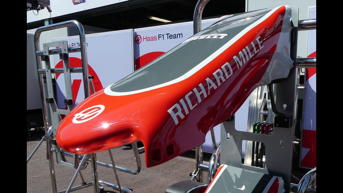 HaasF1 - Formel 1 - GP Monaco - 24. Mai 2016