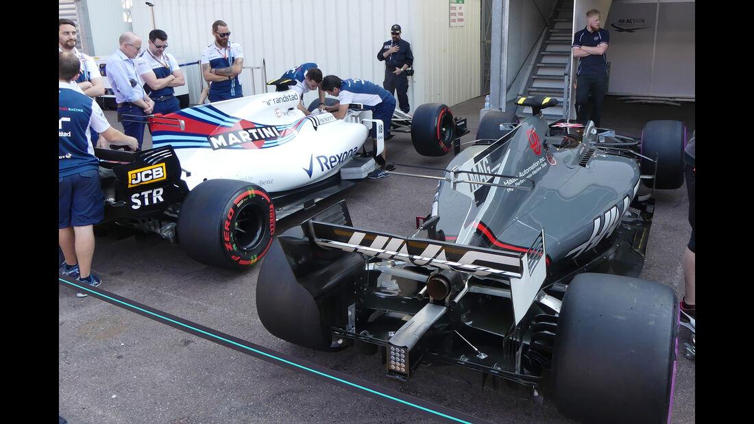 HaasF1 - Formel 1 - GP Monaco - 26. Mai 2017