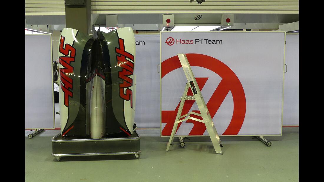 HaasF1 - Formel 1 - GP Singapur - 14. September 2016