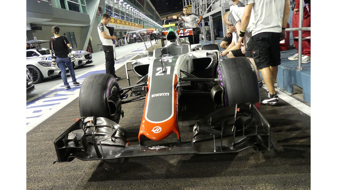 HaasF1 - Formel 1 - GP Singapur - 15. September 2016