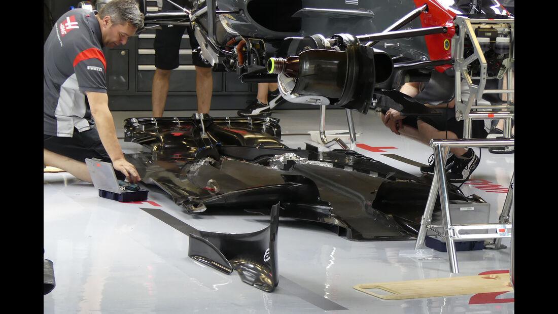 HaasF1 - Formel 1 - GP Spanien - 11. Mai 2017
