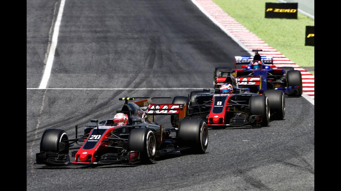 HaasF1 - Formel 1 - GP Spanien 2017