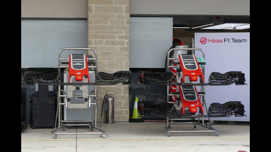 HaasF1 - Formel 1 - GP USA - Austin  - 17. Oktober 2018