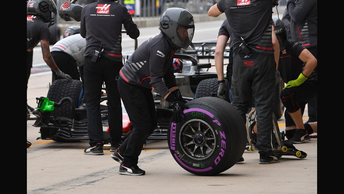 HaasF1 - Formel 1 - GP USA - Austin - 20. Oktober 2018
