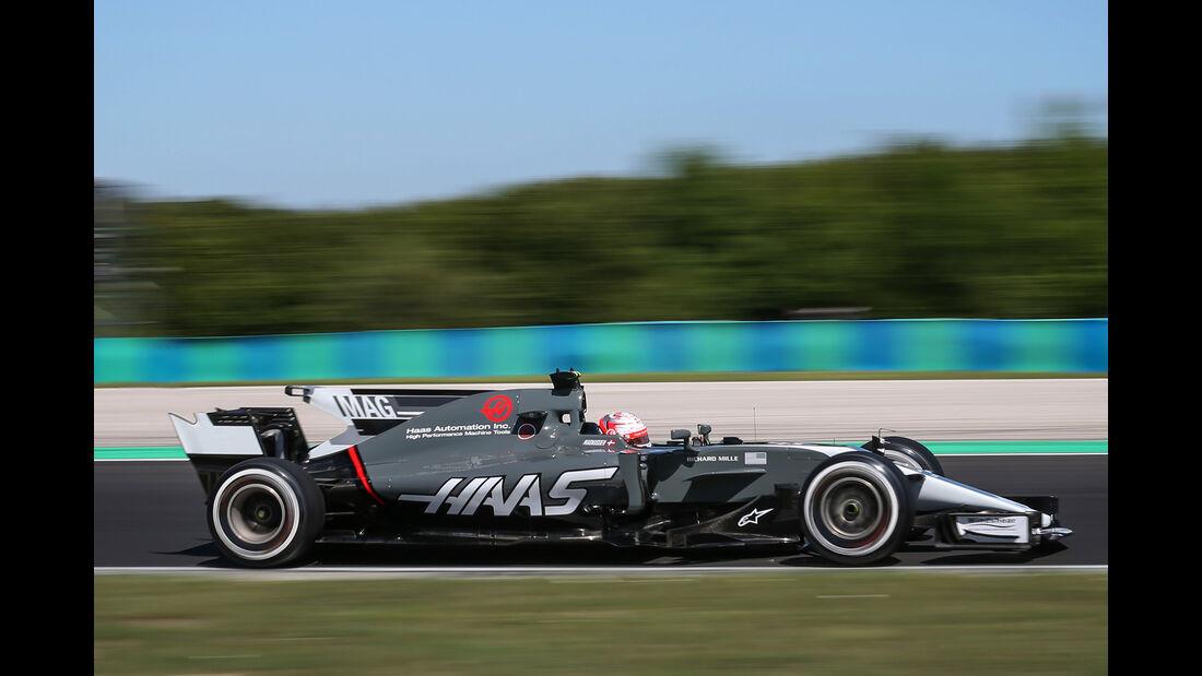 HaasF1 - Formel 1 - GP Ungarn 2017