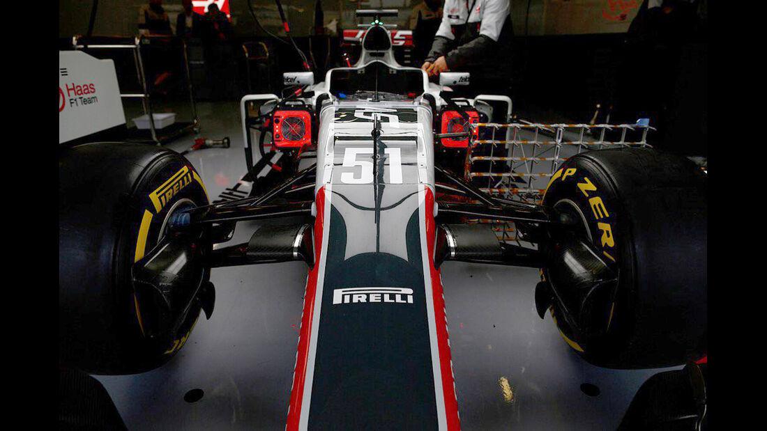 HaasF1 - Formel 1 - Silverstone-Test - 12. Juli 2016