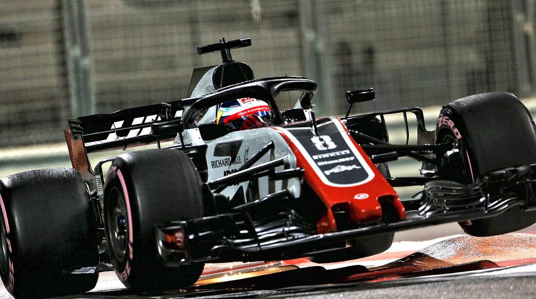 HaasF1 - GP Abu Dhabi 2018