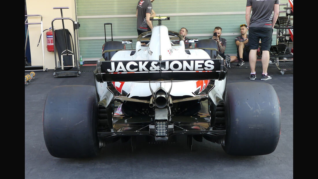 HaasF1 - GP Abu Dhabi - Formel 1 - 22. November 2018