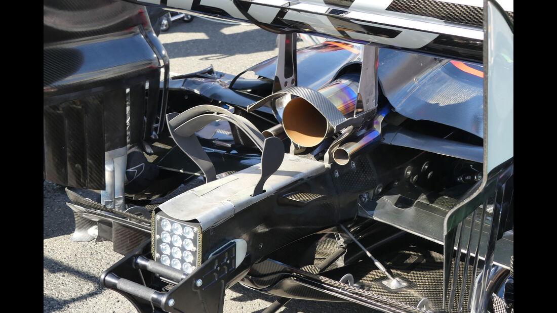 HaasF1 - GP Aserbaidschan 2017 - Baku - Technik-Updates