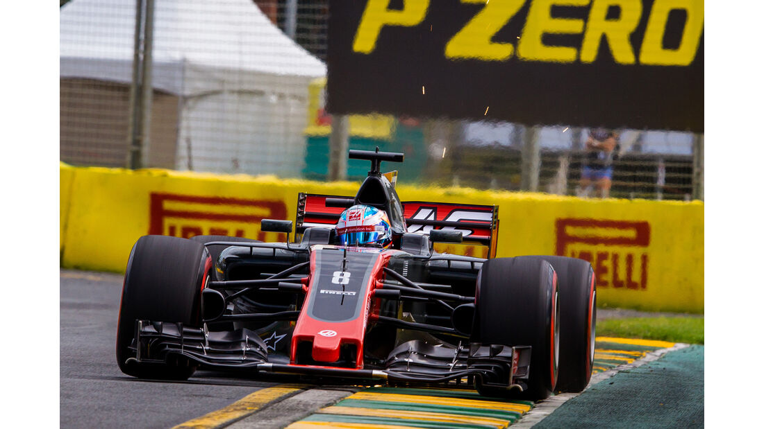 HaasF1 - GP Australien 2017