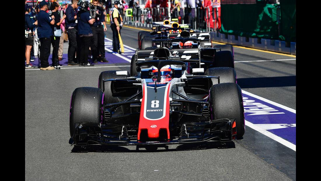HaasF1 - GP Australien 2018