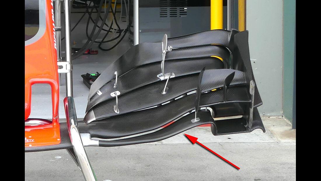 HaasF1 - GP Australien - Formel 1 - Technik - 2017
