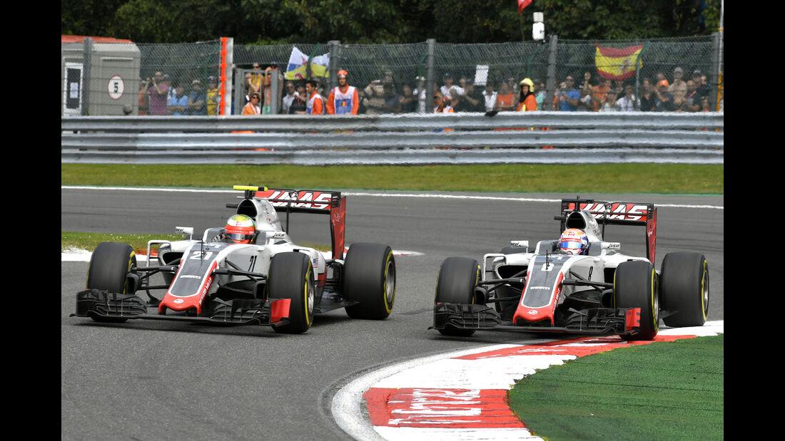 HaasF1 - GP Belgien 2016