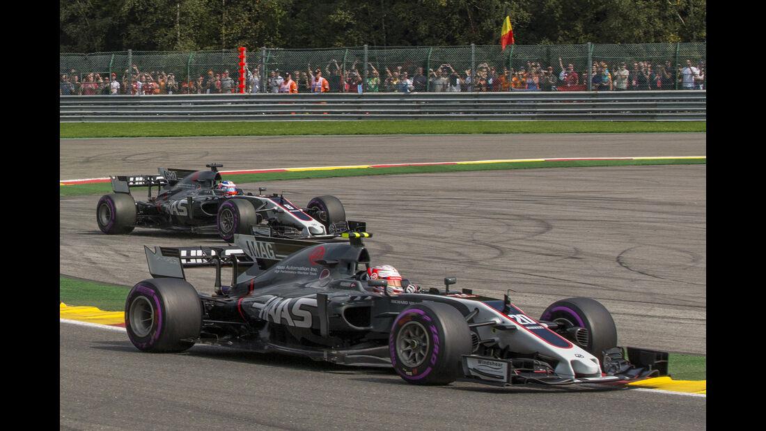 HaasF1 - GP Belgien 2017