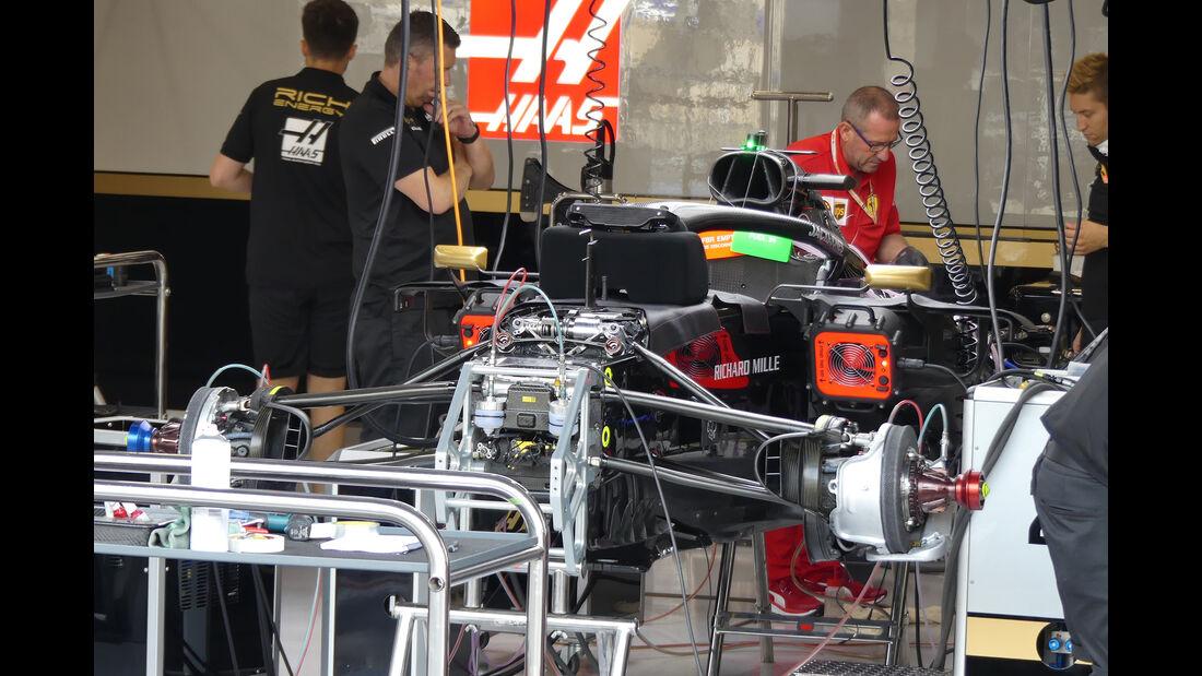 HaasF1 - GP Belgien - Spa-Francorchamps - Formel 1 - Donnerstag - 29.8.2019