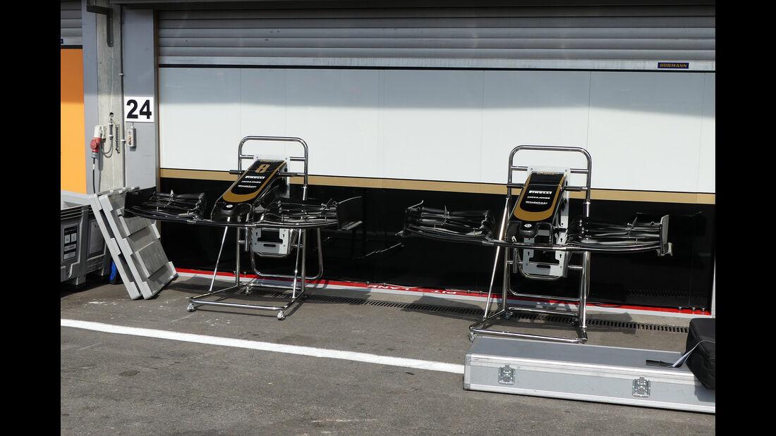HaasF1 - GP Belgien - Spa-Francorchamps - Formel 1 - Mittwoch - 28.8.2019