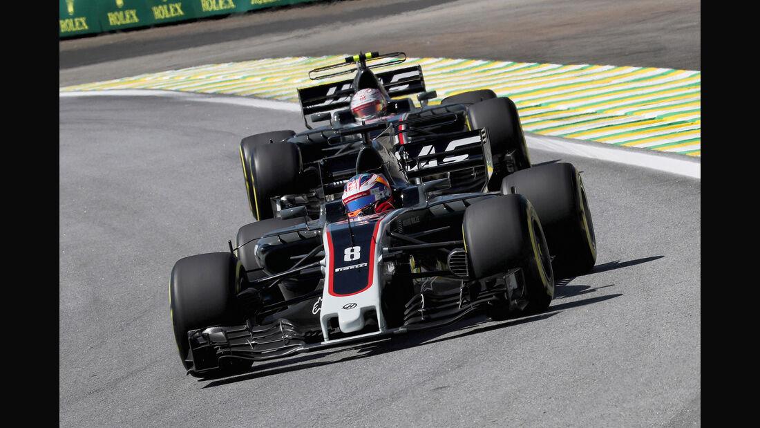 HaasF1 - GP Brasilien 2017