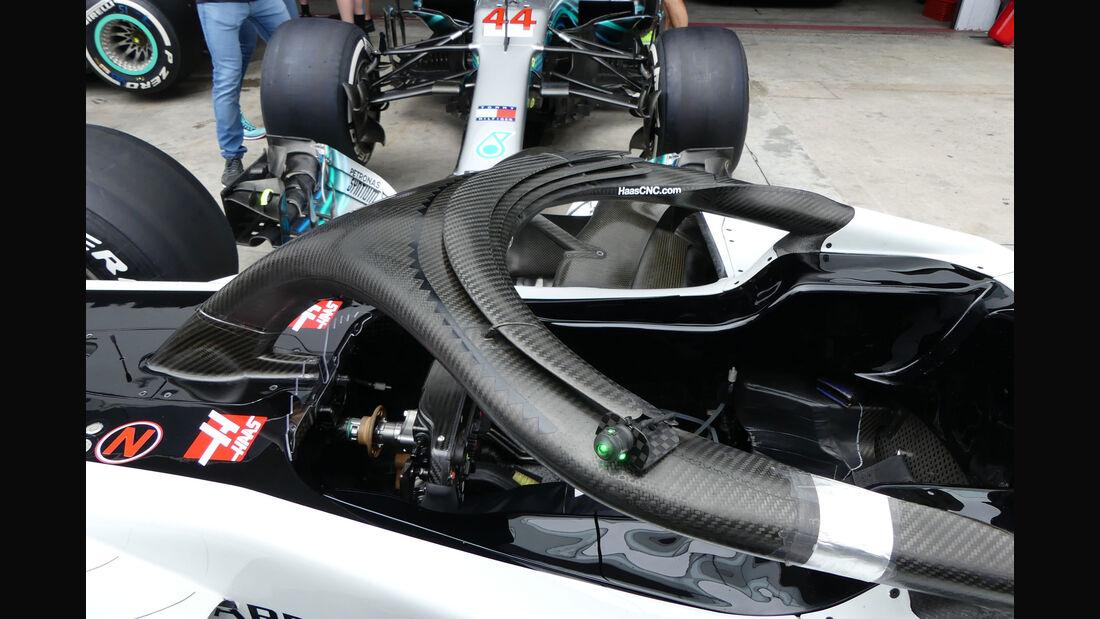 HaasF1 - GP Brasilien - Interlagos - Formel 1 - Donnerstag - 8.11.2018